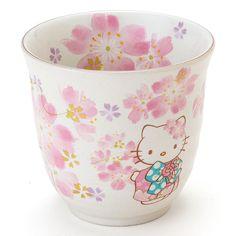 Hello Kitty Porcelain Japanese Cup Mug Tableware Kimono Sanrio Made Japan for sale online Sanrio Hello Kitty, Hello Kitty Items, Precious Moments, Hello Kitty Kitchen, My Cup Of Tea, Tea Cup, Miss Kitty, Go Pink, Luanna