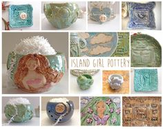 Funding on @Etsy: Beautifully Crafted Ceramics Ispired by Nature & Tropical Dreams - Island Girl Pottery #fundonetsy http://etsy.me/1J7HJbM