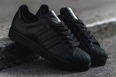ADIDAS SUPERSTAR II (TRIPLE BLACK) | Sneaker Freaker