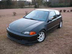 Honda Civic 5th-gen EH2. I've wanted one for a while. Must have 5spd.