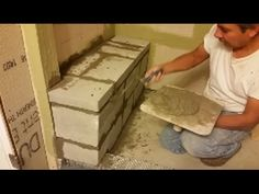 Build A Shower Curb Frame Using Stacked 2 X 4s Add