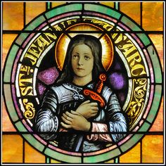 St Joan of Arc | www.saintnook.com/saints/joanofarc | St. Joan of Arc Roundel | Flickr - Photo Sharing!