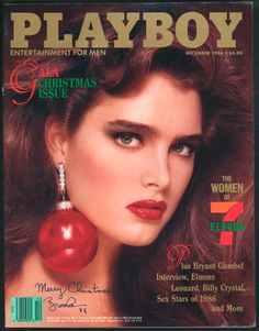 Entertainment Discover Playboy Dec 1986 Gift Birthday Present Original Vintage Adult Glamour Entertainment Magazine Entertainment Wall Units, Starship Entertainment, Party Entertainment, Playboy, Billy Crystal, Diy Tv Stand, Brooke Shields, Glamour Magazine, Rolling Stones