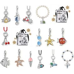 """""""THOMAS SABO Charm Club Summer"""" by thomassabo-official on Polyvore"""