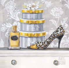 Fashionably Scented Art Print by Angela Staehling at Art.com