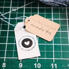 We recently teamed up with ClassE Stitches to make all of our hangtags from last week's shipments extra special! This creative shop owner sent over her funny and cute hangtags for us to test and a few of you received them in the mail! If you own a small shop and are looking for a way to make your customers smile or if you package cute things regularly and want to add another extra special touch head over to @classestitches and check out her adorable hangtag offerings. We're sure you'll love…