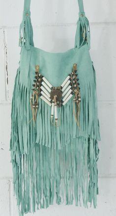 Again. #BestColorEver. The bead pattern, the length, and of course... #Fringe. fringe bag