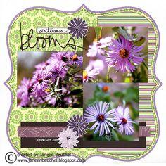 Autumn Blooms - Scrapbook.com