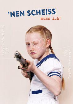 ´nen Scheiss - Postkarten - Grafik Werkstatt Bielefeld
