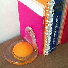Egg Book Stand