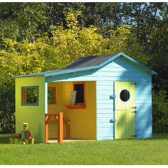Cabane enfants on pinterest play houses trampolines and deco - Cabane de jardin igloo ...