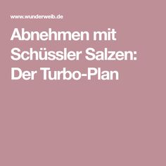 Abnehmen mit Schüssler Salzen: Der Turbo-Plan