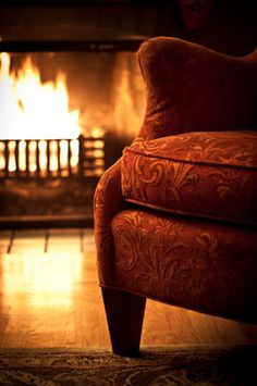 Because Nothing Beats A Cold Day, A Fire, A Comfy Chair And A Good Book!  (Well Maybe A Good Friend With Good Conversation Might!