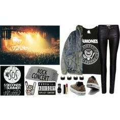 Rock Concert's style #polyvore