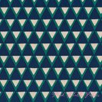 Ellen Luckett Baker Stamped Triangles Blue [IMPORT-JG41500-501B] - $19.95 : Pink Chalk Fabrics is your online source for modern quilting cottons and sewing patterns., Cloth, Pattern + Tool for Modern Sewists