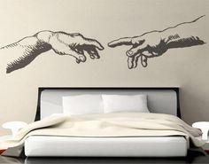 The Creation wall decal for housewares via Wallartdecals