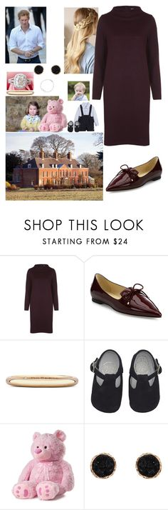 """""""Going to the Anmer Hall celebrate Charlotte 2nd birthday"""" by royal-431 ❤ liked on Polyvore featuring Ganni, Jimmy Choo, De Beers, Humble Chic and Roberto Coin"""