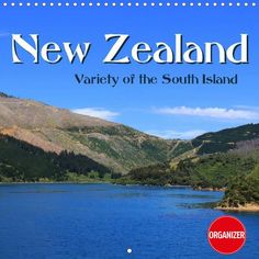 New Zealand - Variety of the South Island (Planer 2017 with boxes)