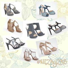 Colección de fiesta! Modelos ideales! Que brillen tus pies ese día!