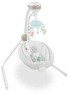 The Fisher-Price Comfy Cloud Cradle 'n Swing provides a fun place to play and relax. The soothing swing is customized with 2 swinging motions and SmartSwing Technology for 6 different speeds that lull your baby along to 16 songs, nature sounds, and more. Baby Bouncer Seat, Best Baby Bouncer, Baby Swings And Bouncers, Fisher Price, Baby Boy, Relax, Comfy, Clouds, Fun
