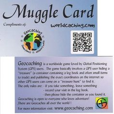 Muggle Card, an alternative to the Geo Card offered on the original website...