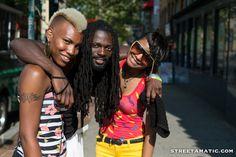 Latasha, Gin & Jamelia on U Street - #DC #streetamatic #streettogs #Ustreet #photo