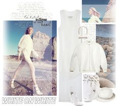 """White desert"" by ansev ❤ liked on Polyvore"