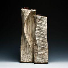 Akira Satake Vase Set