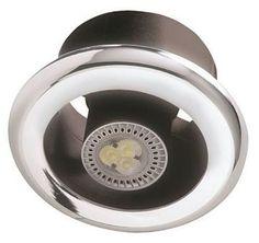Manrose Led Showerlite Bathroom Extractor Fan Kit With Shower Light Ledslktc