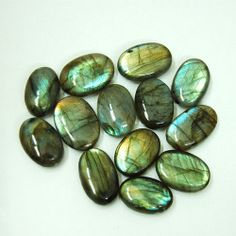 Exclusive 257Ct Fabulous Multi Colour Lot Natural Rare Labradorite Gemstone