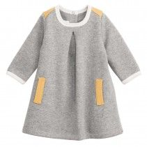 Wish I could find a tutorial to make this cute Petit Bateau baby dress