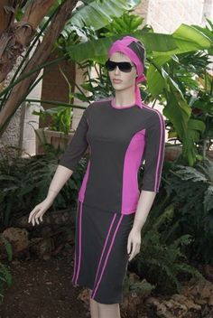 Swim dress (modest). Also good for a work out outfit.