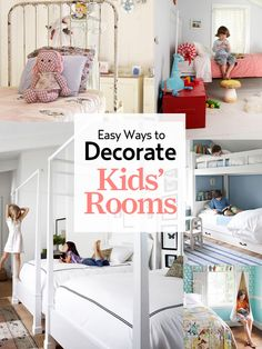 31 kids' room ideas you'll both love! http://www.countryliving.com/homes/ideas-for-kids-rooms-0809