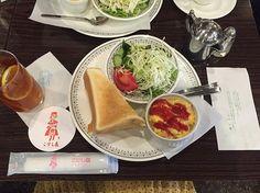 こけし屋 モーニングAセット*580円(税別