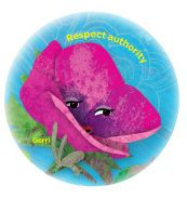 gerri the geranium coloring page - daisy girl scout pink petal respect authority petal on