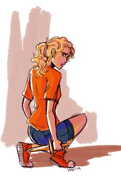 Annabeth by illustrationrookie on deviantART