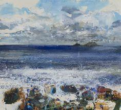 Kurt Jackson, Cornwall ('Gale Force'?)Original Artwork