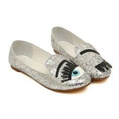 $20.48 Casual Women's Flat Shoes With Cute Animal Pattern and Sequins Design