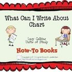 This chart was designed specifically for use with Lucy Calkins Units of Study, How-To Books. If you don't use Units of Study as your curriculum, th...