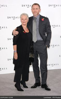 daniel craig and judi dench - Google Search