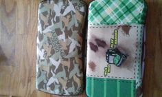 Handmade diaper wipe cases
