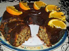 and bon appetite !: Easy orange cake without eggs and butter Greek Desserts, Greek Recipes, Meals Without Meat, Cookie Recipes, Dessert Recipes, Cooking Cake, Cake Bars, Vegan Cake, Vegan Food