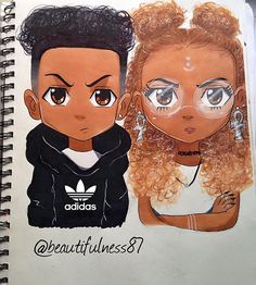 Finally finished my Boondocks stylized characters ✍I worked so hard on this…