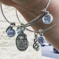 These would make an excellent addition to your Alex and Ani...