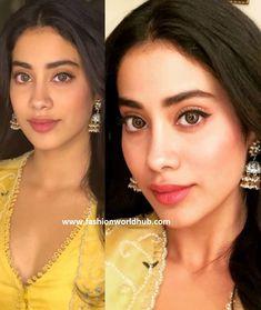 Janhvi Kapoor in Anushree Reddy | Fashionworldhub