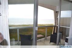 Te huur: De Panne: appartement met zicht op zee en zwembad Windows, Window, Ramen