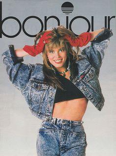Bonjour jeans (1987) #denim #reneesimonson