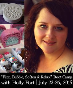 """Holly Port's 4-Day """"Fizz, Bubble, Soften & Relax"""" Boot Camp at The Nova Studio"""