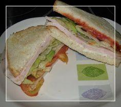A dieta con ww: SANDWICH DE PAVO, 3pt.