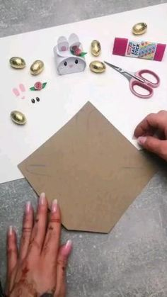 Diy Crafts Hacks, Diy Crafts For Gifts, Diy Home Crafts, Diy Arts And Crafts, Diy Projects, Cool Paper Crafts, Paper Crafts Origami, Fun Crafts, Creative Crafts